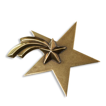 Shooting Star : Broche